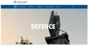 Larsen & Toubro Defence participating in the B2B