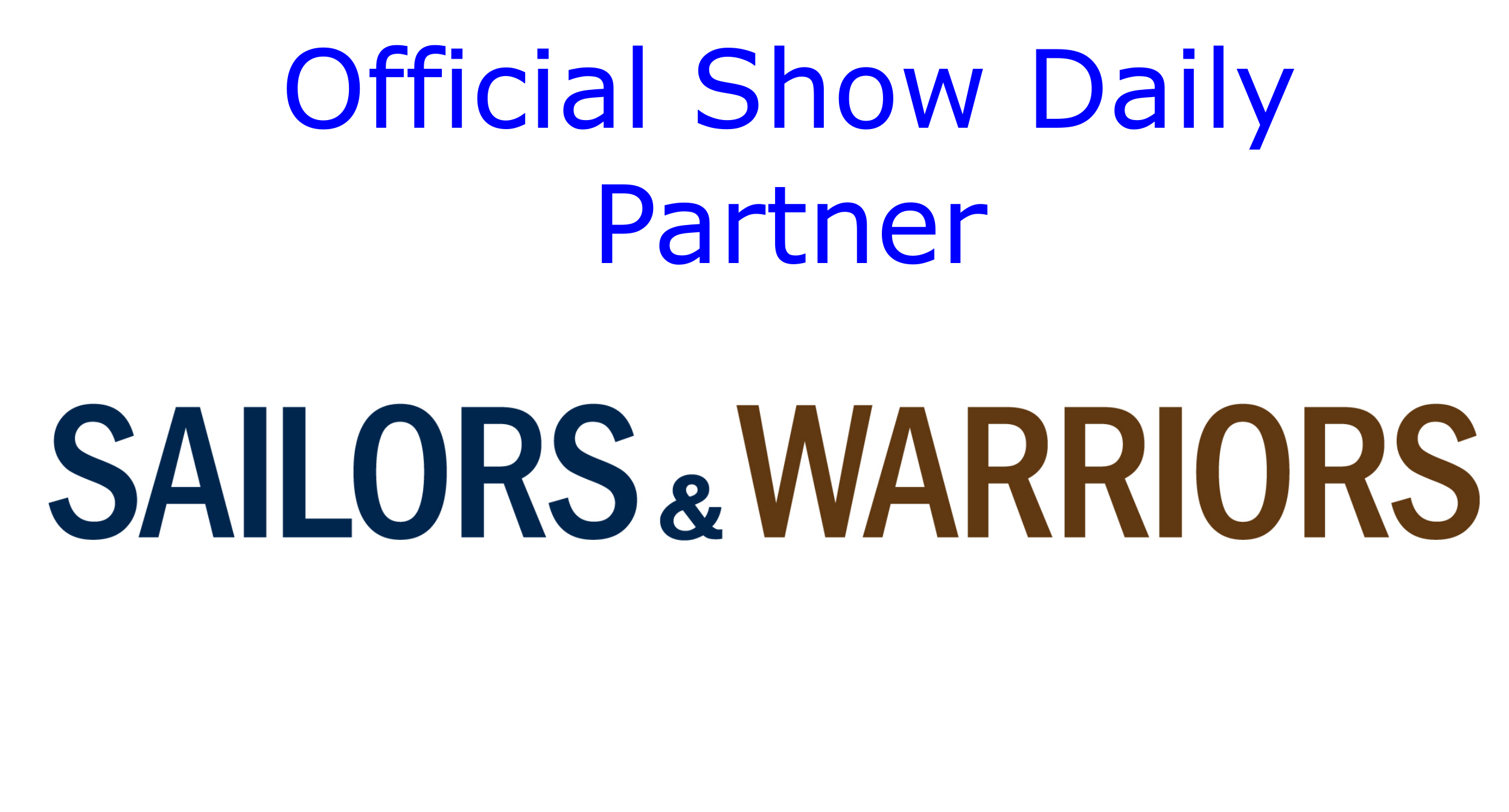 Official Show Daily Partner